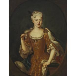 Follower of Jean-Baptiste van Loo (1684-1745), PORTRAIT