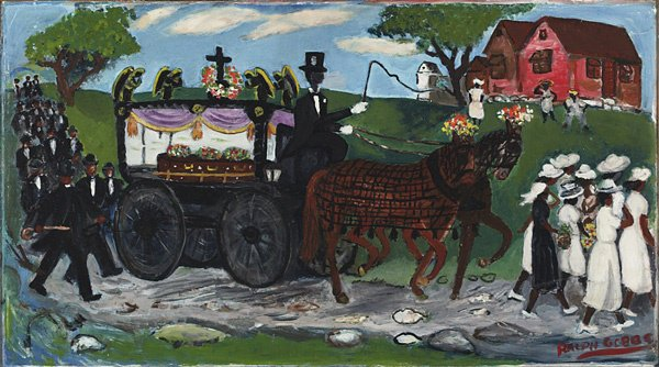 1001: American, Ralph Gibbs, FUNERAL PROCESSION...