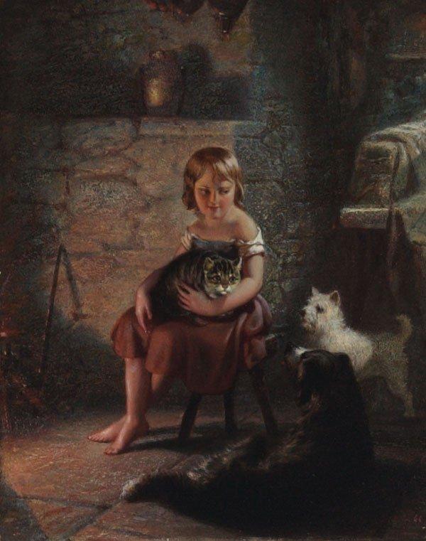 1008: American, Benjamin F. Reinhart (1827-1885), KITTY