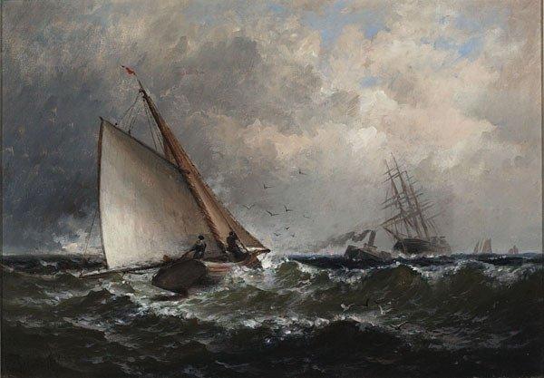 1016: American, Granville Perkins, SHIPPING