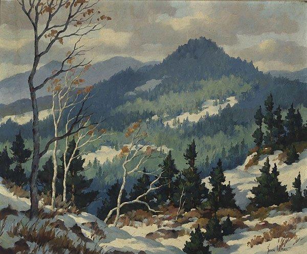 1021: American, John Cuthbert Hare, THE SMOKIES,