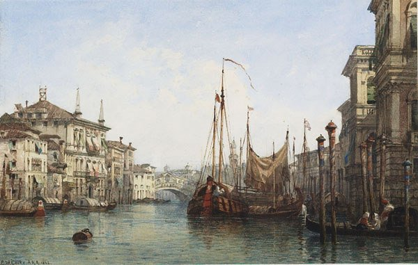1048: British, Edward W. Cooke (1811-1880), VIEW