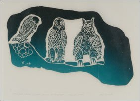 1414: Inuit Art DAVIDIALUK, print
