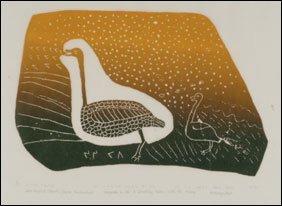 1415: Inuit Art JOSIE PAMIUTU PAPIALUK, print