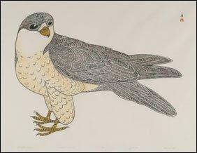 1419: Inuit Art KANANGINAK POOTOOGOOK, print