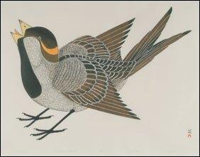 1420: Inuit Art KANANGINAK POOTOOGOOK, print