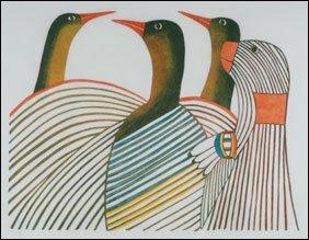 1422: Inuit Art PUDLO PUDLAT, print