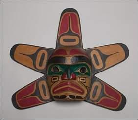 174: Native Art Ellen Neel (-1966), A NWC sun mask