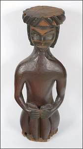 179: Native Art A NWC wood Potlatch figure