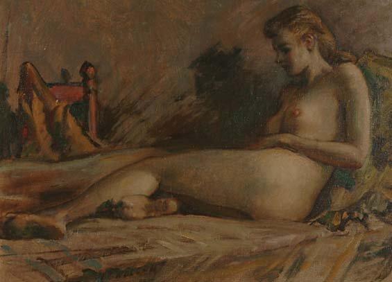 1003: American Art Harold C** Wolcott