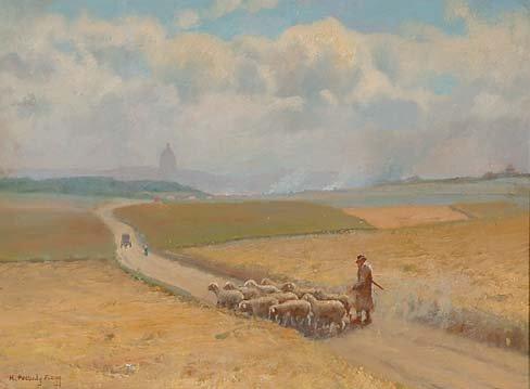 1007: American Art Hiram Peabody Flagg
