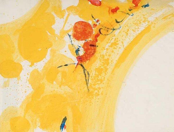 1019: American Art Sam Francis (1923-1994)