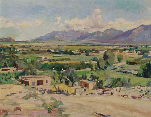 1020: American Art Julius Charles Berninghaus