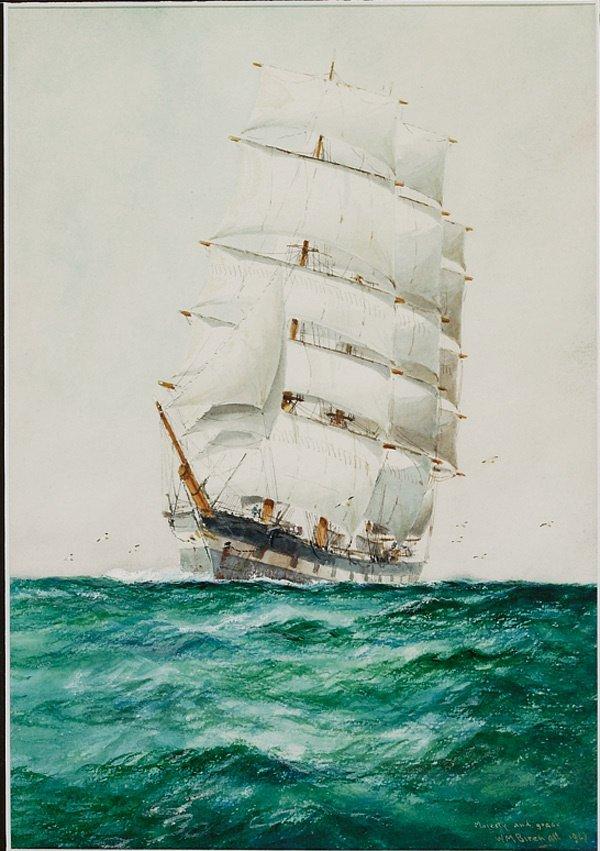 1: American, William Birchall (1884-1941), MAJESTY...