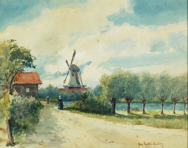 2: American, Henry P. Spaulding (1868-1938), WINDMILL