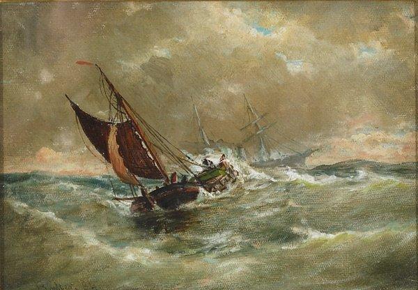 3: American, Elisha T. Baker (1831-1890), SHIPS