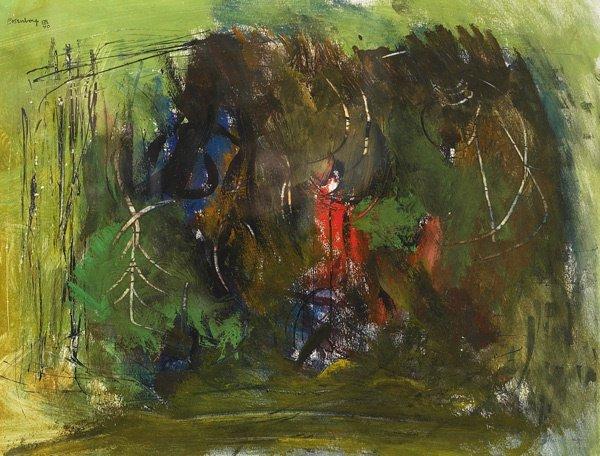10: American, Ralph M. Rosenborg (1911-1992 ), ABSTRACT