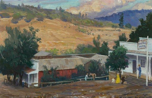 17: American, Albert S. Pennoyer (1888-1957), HOMESTEAD