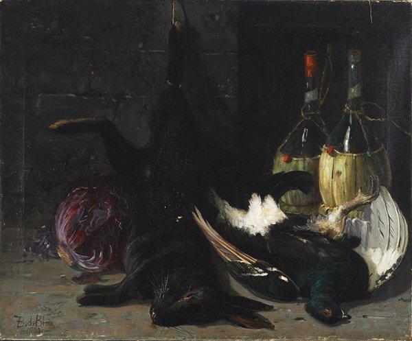 18: American,Francois B. de Blois (1829-1913), STILL...