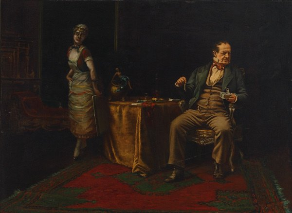 19: American, Charles H.Turner (1848-1908), SARDINES...