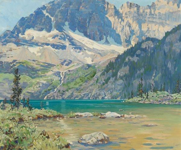 20A: American, Belmore Browne(1880-1954), WILDERNESS...