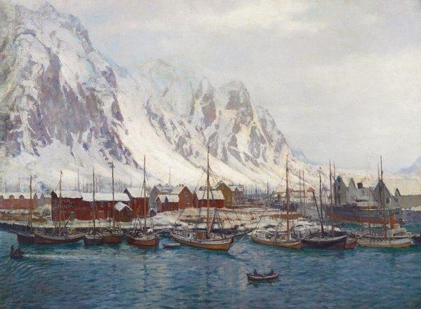 21: Norwegian/American, Karl Ouren (1882-1943), WINTER