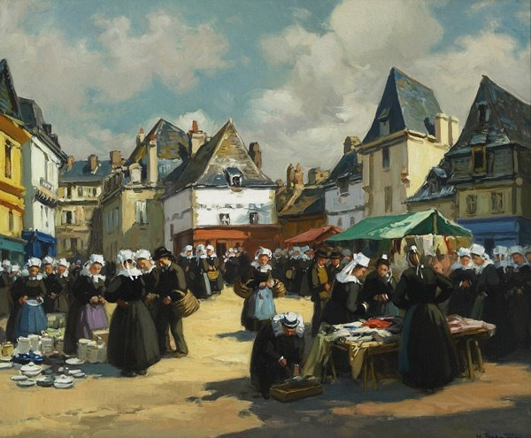 237: French, Henri A. Barnoin (1882-1935), MARCHE