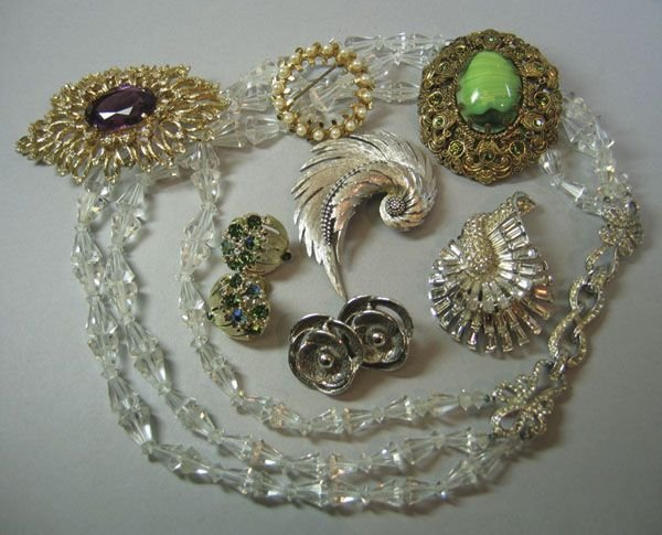 1: Quantity Of Costume & Silver Jewellery