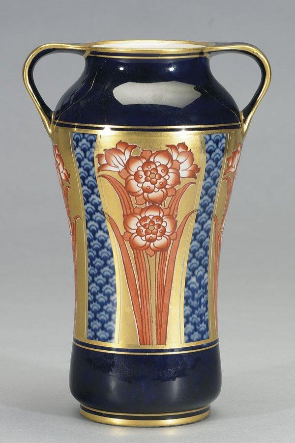 1002: Moorcroft Macintyre Aurelian Vase, c.1897-98