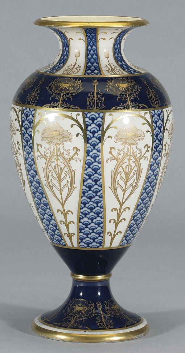 1003: Moorcroft Macintyre Aurelian Vase, c.1897-98