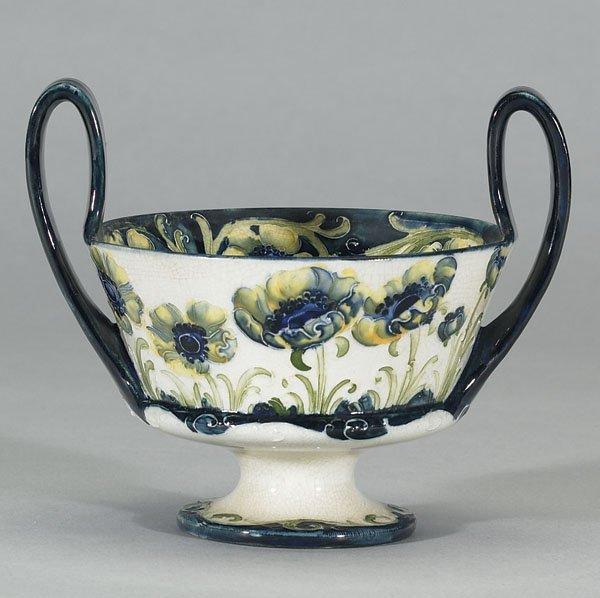 1018: Moorcroft Macintyre Florian  Bowl, c.1903-04