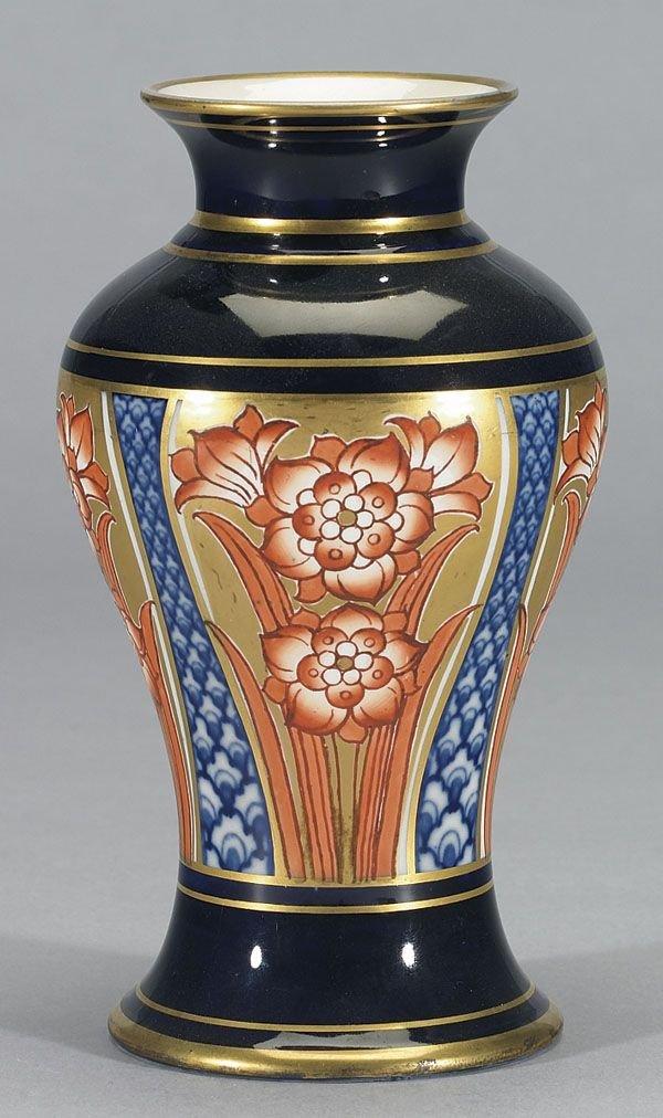 1004: Moorcroft Macintyre Aurelian Vase, c. 1897-98