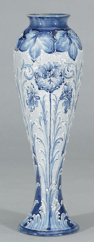1008: Moorcroft Macintyre Florian Vase, c. 1898-1900