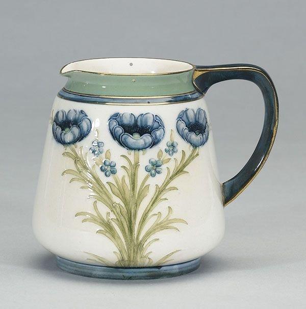 1013: Moorcroft Macintyre Dura Ware Jug, c.1902-05