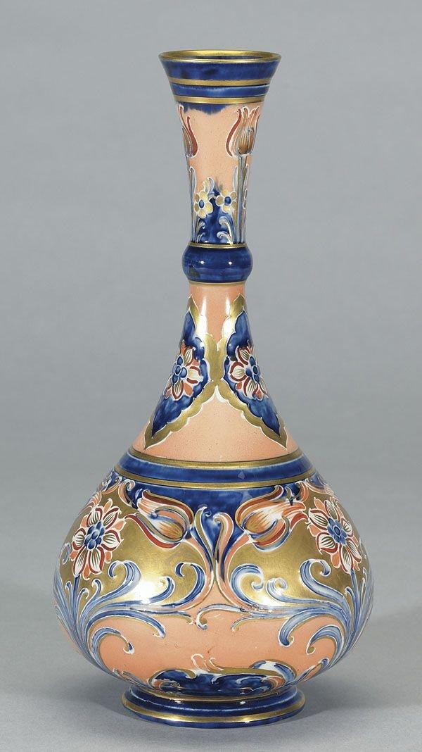 1016: Moorcroft Macintyre Alhambra Vase, c. 1903