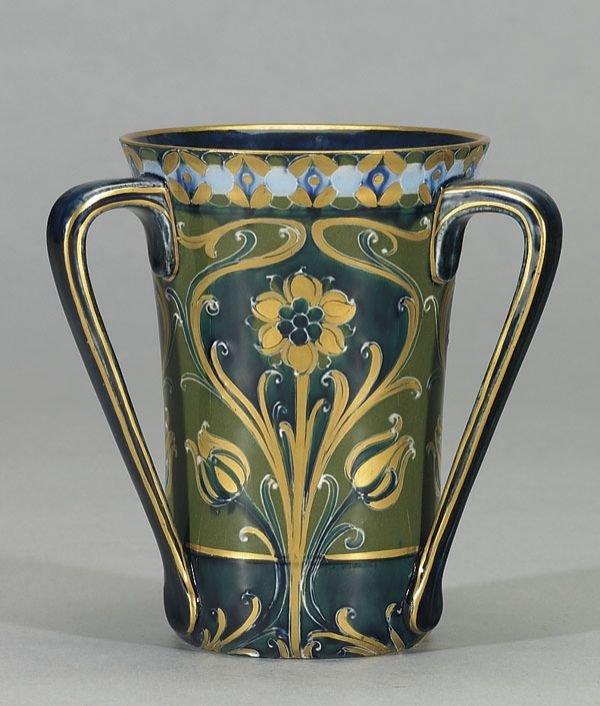 1017: Moorcroft Macintyre Florian Tyg, c. 1903