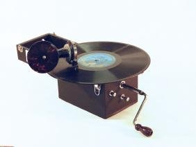 Kameraphone Portable Record Player