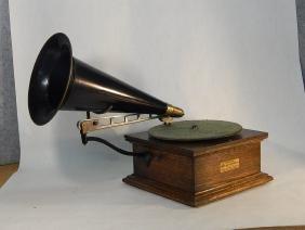 Columbia Disc Graphophone Talking Machine