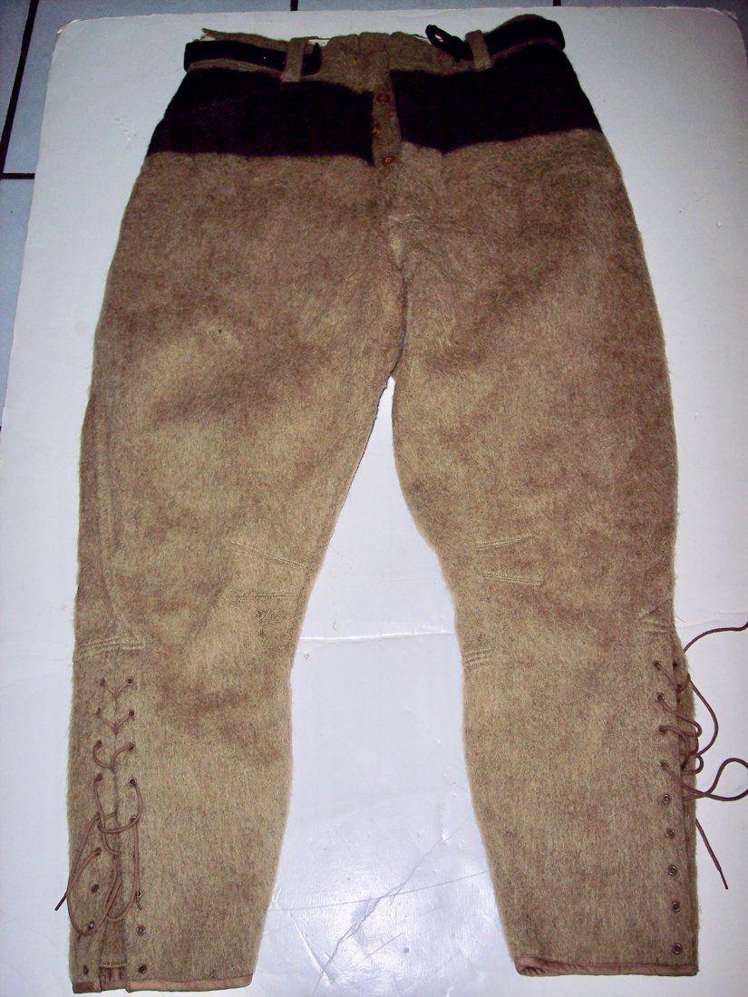 J. GLENN DYER'S ABERCROMBIE & FINCH VINTAGE WOOL PANTS