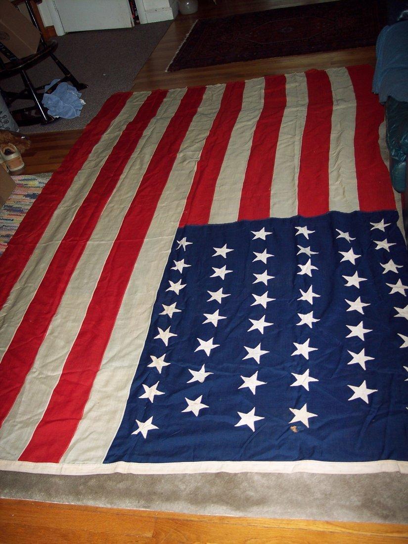 HUGE 46 STAR AMERICAN FLAG FROM J.GLENN DYER COLLECTION - 3