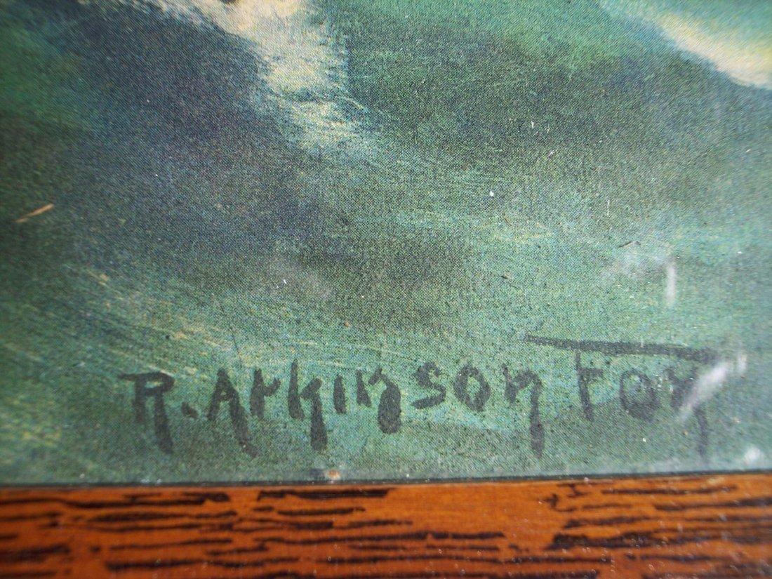 R. ATKINSON FOX WWI OCEAN BATTLE CHROMOLITHOGRAPH - 3
