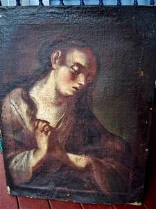 OLD MASTER PAINTING BELIEVED TO BE BY EL GRECO