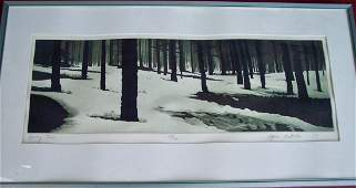 PENCIL SIGNED STEPHEN MACMILLAN SPRING THAW