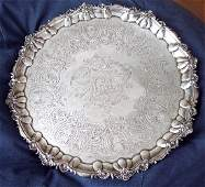 IMPORTANT GEORGE THE III SALVER