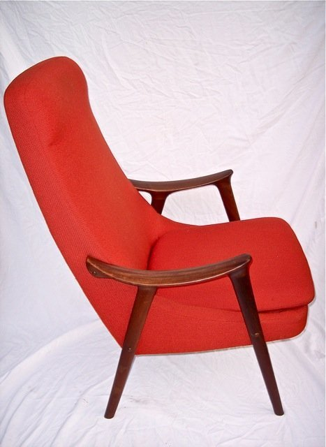 1960'S MID CENTURY MODERN LOUNGE CHAIR NORWAY