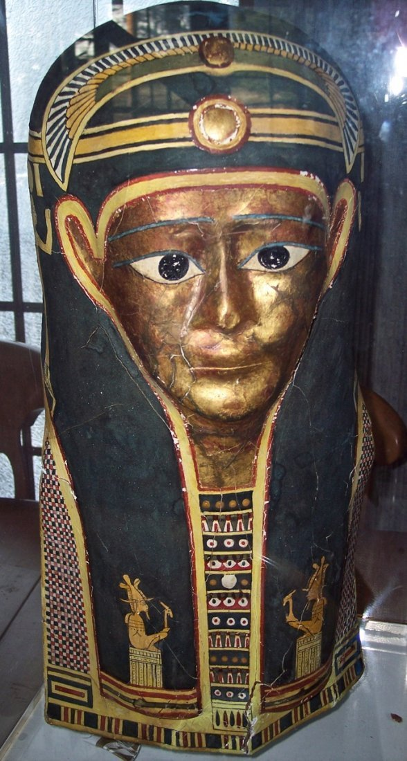 ANCIENT EGYPTIAN MID-PTOLEMAIC PERIOD DEATH MASK