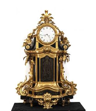 IMPORTANT CARTEL CLOCK, France 19th century.