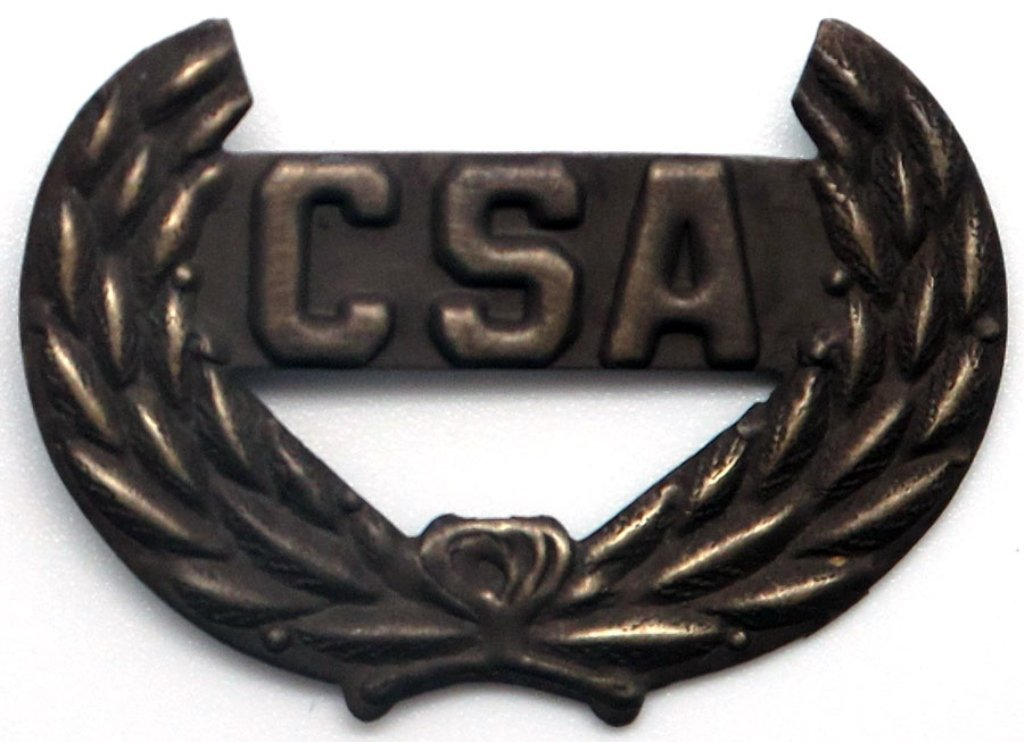 Antique Finish CSA Cut Out Pin