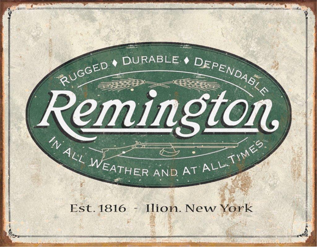 Remington Reproduction Metal Sign