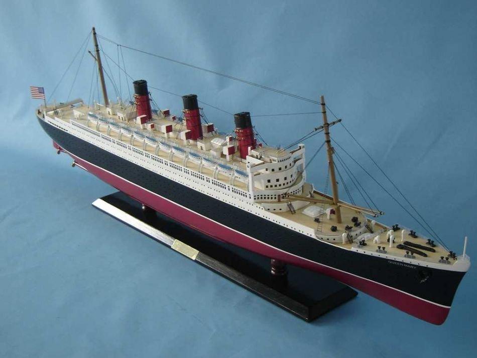 Queen Mary Model Ship